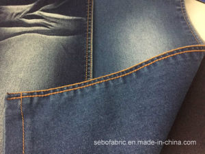 4/1 Satin Denim Fabric with Super Stretch