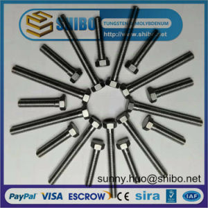 Pure Molybdenum Thread Rods, Moly Screw pictures & photos