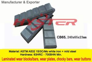 700bhn Chocky Blocks CB65 for Bucket Wear Protection pictures & photos