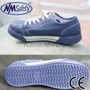 Nmsafety Canvas Work Protection Safety Shoes pictures & photos