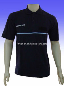 Black Style Polo Shirt pictures & photos
