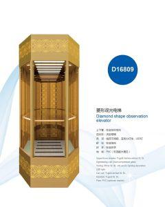 Diamond Shape Observation Elevator pictures & photos