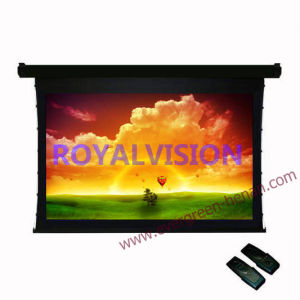 Tab Tensioned Electric Projector Screen pictures & photos