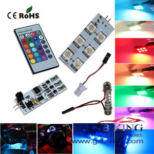 Wireless Remote Control RGB Car 5050SMD LED Domelight pictures & photos