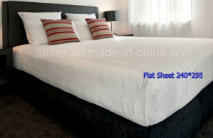 Luxury 5 Star Cotton 100% Sateen Stripe Hotel Bed Sheets