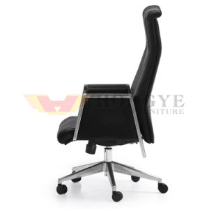 High End Armrest Black Swivel Executive Leather Chair for Furniture pictures & photos