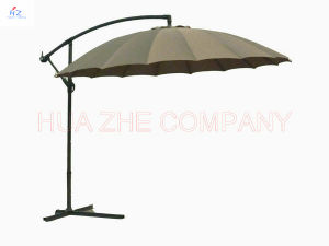 10FT Fiber Glass Garden Parasol Banana Umbrella pictures & photos