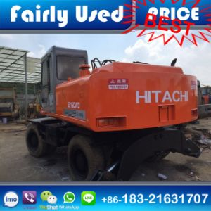 Used Hitachi Ex160wd Tire Excavator of Hitachi Ex160wd Wheel Excavator