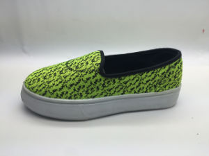 High Quality Breathable Canvas Shoes Good Price (6123) pictures & photos