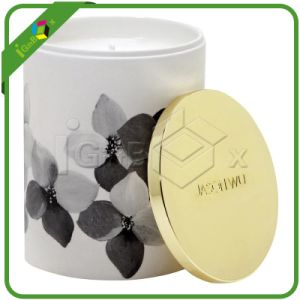Round Shaped Paper Hat Box / Candle Box Wholesale pictures & photos