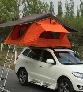 Car Rooftop Tent Overland off Road Camping Vehicle Soft Roof Top Tent for Sale pictures & photos