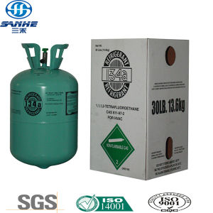 99.9% 13.6kg Pure R134A Refrigerant Gas for Refrigerator pictures & photos