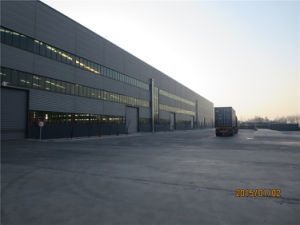 Qulified Industrial Prefabricated Logistic Steel Structure Warehouse pictures & photos