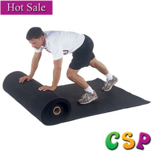 Chinese Supplier Anti Slip Fitness Gym Rubber Flooring, Crossfit Gym Rubber Floor Mat pictures & photos