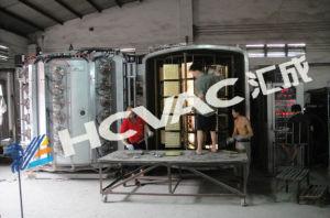 Hcvac Porcelain Ceramic Tiles Titanium Nitride Tin Gold PVD Vacuum Coating Machine pictures & photos