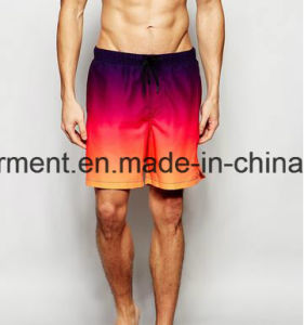4 Way Fabric Strip Man′s Boardshorts, Dry Quickly Swimming Shorts pictures & photos