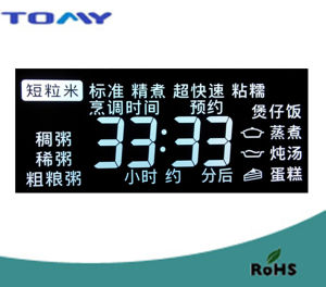 Va LCD Display with White Backlight pictures & photos