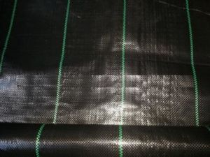 Black PP Woven Weed Mat