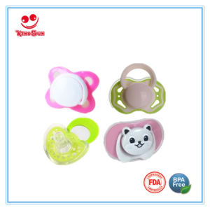 BPA Free Newborn Baby Silicone Pacifier pictures & photos