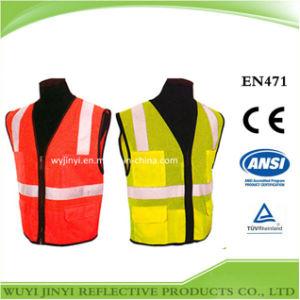 High Quality 100% Polyester Reflective Safety Vest