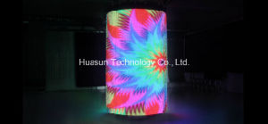 Stage Rental Display /Flexible LED Curtain P100 pictures & photos