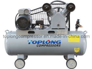 Piston Reciprocating Belt Driven Air Compressor Air Pump (V-0.25/8) pictures & photos
