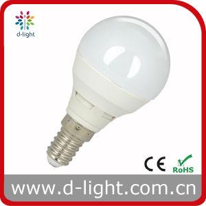 SMD2835 High Lumen G45 Aluminum Plastic 4W E14 LED Bulb pictures & photos