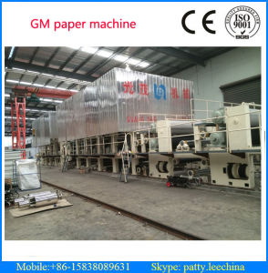 3200mm Type Big Capacity 80 T/D Carton Box Paper Making Machine Using Waste Paper as Raw Material pictures & photos