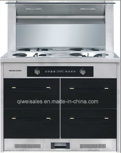 Integrated Cooker with Double Gas Stove (JJC-09) pictures & photos