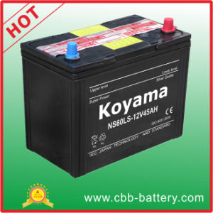 Ns60ls-Mf JIS Standard Automotive Starting Battery 45ah 12V pictures & photos