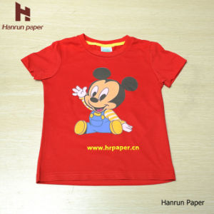 Dark Inkjet Heat Transfer T Shirt Printing Cotton Paper for 100% Cotton Fabric pictures & photos