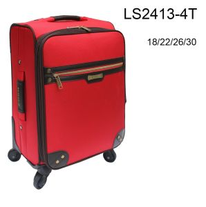 PU Pulley Luggage Sets for Travelling pictures & photos