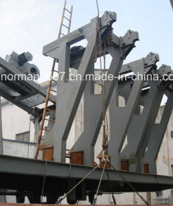 Offshore Platform Davit for Lifeboat. pictures & photos