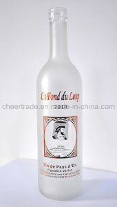 Frosted High Clear Glass Bottle (KHM004) pictures & photos