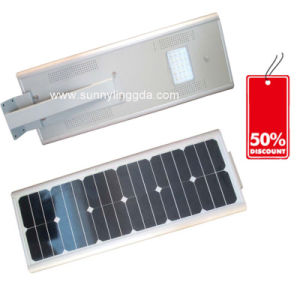 25W CREE LED Solar Street Light All in One