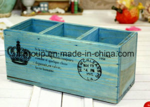 Custom Vintage Wooden Box with Antique Finishing pictures & photos