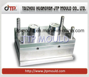 Two Cavities Thin Wall Cup Mould Injection Moulding pictures & photos