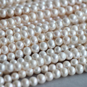 9-10mm Short Potato Shape Freshwater Pearl Strands (E180012) pictures & photos