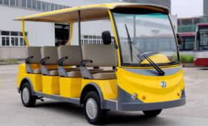11 Seats Chinese Made Electric Sightseeing Car From Dongfeng Motor pictures & photos