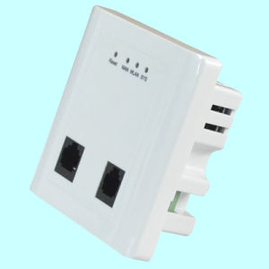 Wireless Access Point (AP) 300Mbps 86 Wall-in Panel WiFi Router (TS302F) pictures & photos