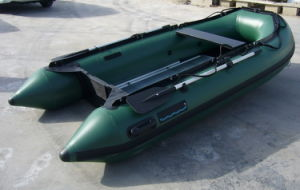 Inflatable Fishing Boat (FWS-D320 Army green color) pictures & photos