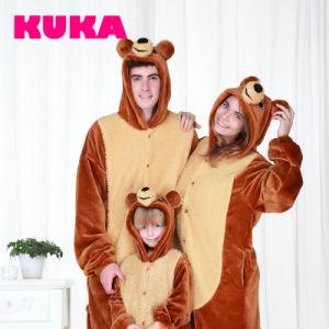 Kuka Bcn Cartoon Animal Bear Onesie Pajamas -Parent-Child-Cartoon Series