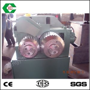 Scrap Tyre Recycling Machine Small Dual Roller Tire Steel Wire Separator pictures & photos