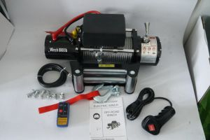 Factory Supplier 8000lbs Electric Winches 4X4 off-Road Towing Winch (DH8000F) pictures & photos