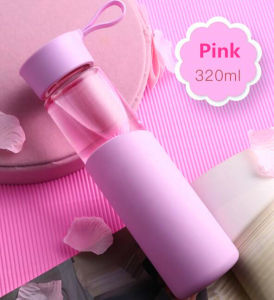 Gift Cup Glass Sport Bottle Portable Glass Cup pictures & photos