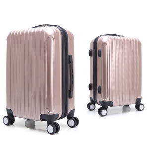 Carry-on Bags Zipper Luggage with Removable Wheels pictures & photos