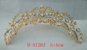 Wedding Bridal Rhinestone Tiara Crown H-31283