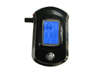 Nf Quality Digital Alcohol Tester with Replaceable Mouthpiece, CE, RoHS Approved (AT6000)