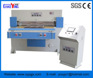 Xyj-3/80 Single-Side Feeding Auto Balance Hydraulic Slipper Cutting Machine pictures & photos
