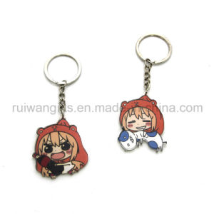 Wholesale Acrylic Cartoon Keychain, Acrylic Key Chain pictures & photos